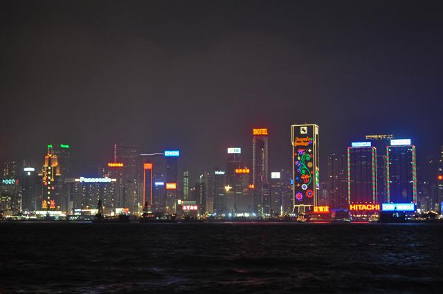 Набережная Гонконга