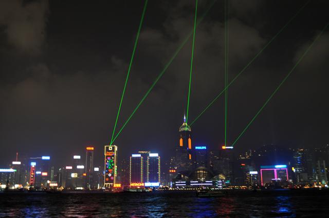 Симфония огней Гонконг