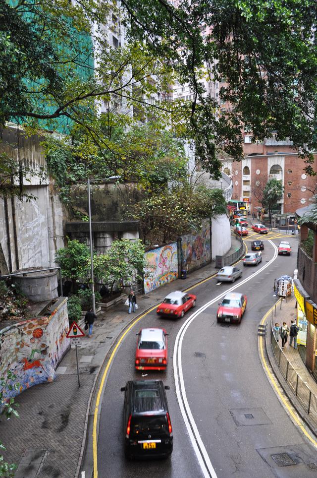 Дороги в Гонконге