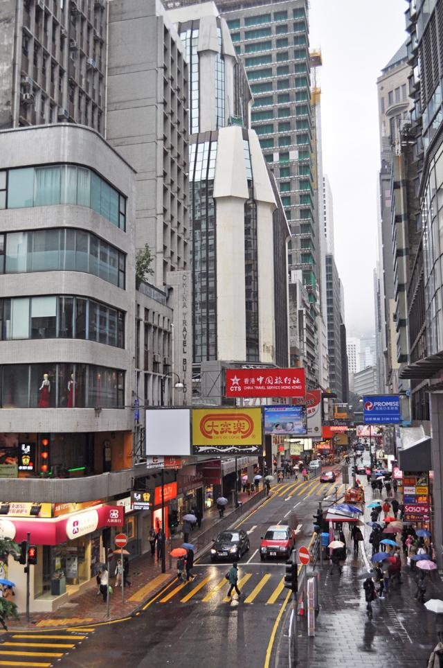 На улице Гонконга