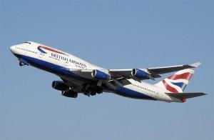 Самолёт авиакомпании British Airways
