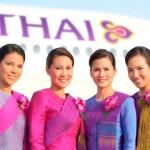 Стюардессы авиакомпании Thai Airways