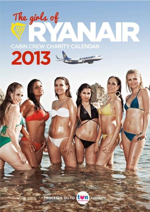 Ryanair calendar 2013